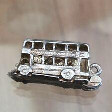 Silver CHIM London Bus Charm Opens