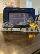The Polar Express Lighted Picture Frame-Never 00006000  Used!
