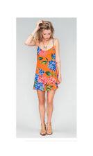 Show Me Your MuMu Ladies Criss Cross Applesauce Bahama Bloom Mini Flower Dress-S