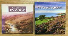 Ken Hildrew's Exmoor AND A Year On Exmoor by Adam Burton *BOTH UNREAD* Hardcover
