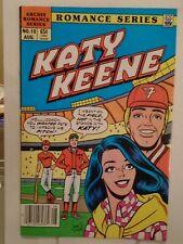 Archie KATY KEENE SPECIAL #10 (1985) Baseball, Romance, John Lucas