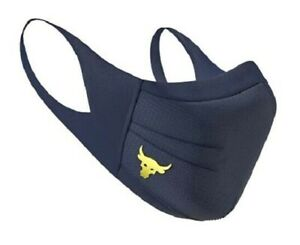 Under Armour Project Rock Sports Face Mask S/M Unisex Adult NAVY Fast Shipp NEW