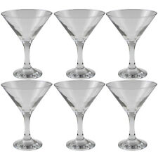 Pasabahce Bistro 6 Piece Martini Cocktail Drinking Glass Glasses Glassware Set