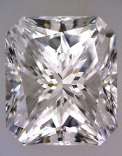 1 carat RADIANT cut DIAMOND GIA report H color SI1 clarity Ideal no fl. loose