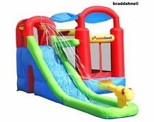 Bounce House Commercial Grade Inflatable Outdoor Water Slide Combo Kids Summer N