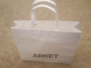 Arket gift bag -  white - 12 in x 11 in