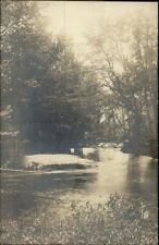 Intervale NH The Rustic Bridge BICKNELL c1910 Real Photo Postcard