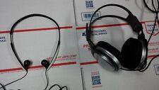 Retro Vintage Sony MDR-A35 folding headphones + MDR-XD100 Studio Head Phones