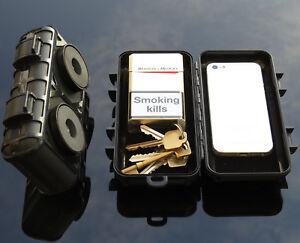 Magnetic Car Van Truck Hidden Safe Stash Secret Storage Box Personal Security