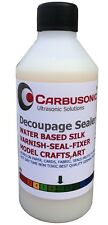 Water based varnish, silk matt decoupage, sealer, water resistant, artist, 250ml