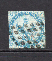 France Colonies 20 Cent Stamp c1859-70 Used (5531)