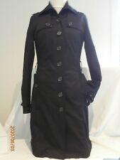 Wish Black Trench Coat Size 10