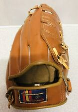 TRIO BIG SCOOP LEATHER LH BASEBALL YOUTH GLOVE 100% NYLON STICHED