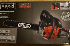 Scheppach Benzin Kettensäge 2,45 PS Motorsäge 46cm mit Oregon-Schwert CSH46