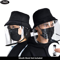 Fisherman Hat Anti Saliva Protective Cap Anti-Spitting Uniex Face Cover US Stock
