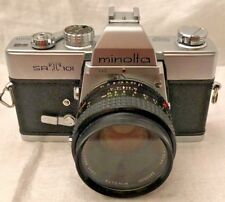 【EXC+++】 Minolta SRT-101 SLR 35mm Film Camera w/ MC Rokkor-PF 50mm f/1.7 *F/S*