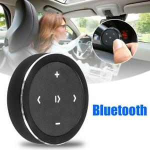Wireless Bluetooth Remote Control Button Car Steering Wheel Media Audio Music US