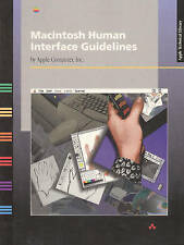 NEW Macintosh Human Interface Guidelines by Apple Computer  Inc.