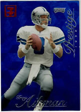 Troy Aikman 1998 Playoff Prestige Retail 7-Eleven Exclusive Red Logo #80