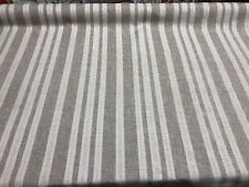 P Kaufmann Clearview Linen Stripe Upholstery Drapery Fabric by the yard