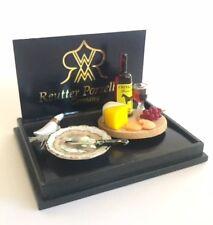Cheese Board ~ Superbe échelle 1/12th miniature par Reutter Porzellan!