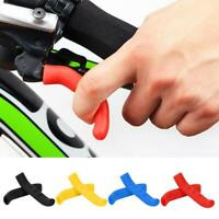 1 Pair Mountain Bike MTB Road Bicycle Brake Lever Grips Protector Cover Boot New