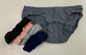 NEW, NOT IN PACKAGE Hanes Premium Women's Lightweight Mesh Hipsters 5 Pack Size