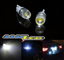 2PC 1.5W 6000K SUPER WHITE SMD LED T10 194 168 LAMP BULBS W/ PROJECTOR LENS