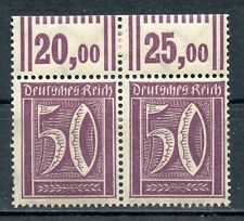 STAMP / TIMBRE ALLEMAGNE GERMANY DEUTFCHES REICH PAIRE DE 2 N° 166 **