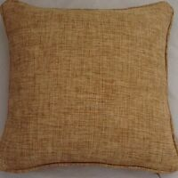 A 16 Inch Cushion Cover In Laura Ashley Simpson Gold Fabric