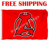 Albany Devils Logo Flag AHL American Hockey League 2018 Banner 3X5 ft