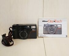 Nikon One Touch 35mm f2.8 Lens Camera with Manual