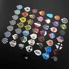 150pcs/lot Dart Flights in 50 Kinds of Patterns RARE Darts Fin Feather Accessory