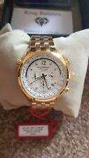 Krug Baumen 100105DM Mens Air Explorer Diamond Limited Edition Watch
