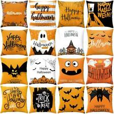 "18"" Halloween Party Pillow Case Cushion Cover Sofa Waist Throws Home Car Decor"