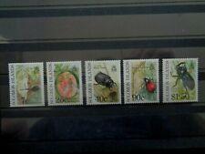 SOLOMON ISLANDS 1991 CROP PESTS 5v MH MINT SG687/691 CV£7+