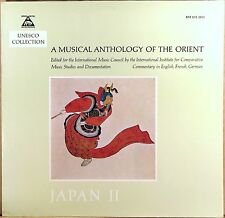 MUSICAPHON GERMANY Musical Anthology of the Orient JAPAN II Enesco BM-30 L-2013