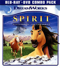 Spirit: Stallion of the Cimarron (Blu-ray Disc, 2014, 2-Disc Set)