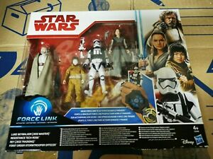 Hasbro star wars force link 2017 Comme neuf 4 Figurines