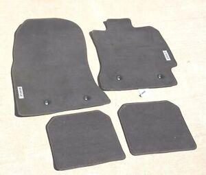 2012-2020 Subaru BRZ Floor Mats Black Set OEM Genuine Parts