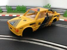 Scalextric Car Ford Escort XR3i Yellow C394 Body Shell Interior Cabin Chassis