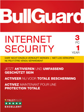 Bullguard Internet Security 2019, 1 / 3 / 5 oder 10  PC Windows / KEY 365 TAGE