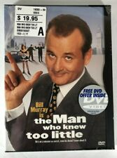 The Man Who Knew Too Little DVD Widescreen 1998 Brand New Sealed Bill Murray OOP