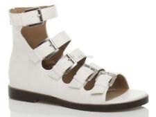 Sandali e scarpe blocchetti bianche con tacco basso (1,3-3,8 cm) per il mare da donna