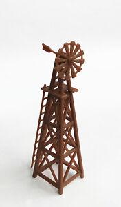 Outland Models Modelleisenbahn Miniatur Landwirt Windmühle Spur H0 1:87