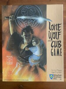 1989 Mayfair Games Lone Wolf And Cub Board Game