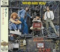 THE WHO WHO ARE YOU 2013 JAPAN RMST SHM CD+5 - NEW/FACTORY SEALED - OUT OF PRINT