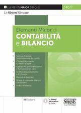 ELEMENTI MAJOR DI CONTABILITA' E BILANCIO  - Edizioni Giuridiche Simone
