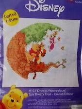 "Cross stitch Kit Disney "" Easy Breezy Days"" New By Designer Stitches"