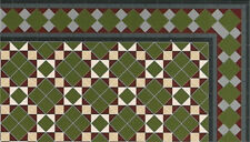 Shaftesbury Pavimento Card, Casa delle Bambole Miniatura, pavimenti